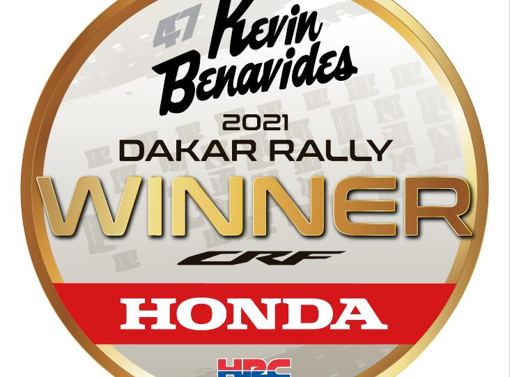 Honda vyhrála Dakar 2021!