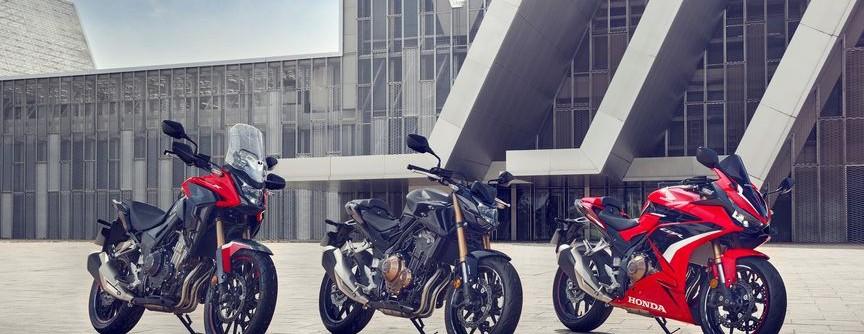 Představujeme nové modely řady 500 – CB500X, CB500F, CBR500R